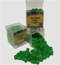 Green valve caps